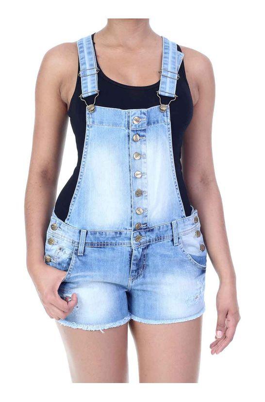 Jardineira jeans feminina sawaryb2c for Jardineira jeans feminina c a