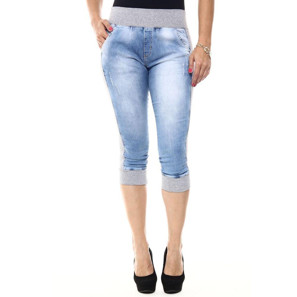 Calu00e7a Jeans Feminina Capri - 245110 - SawaryB2C
