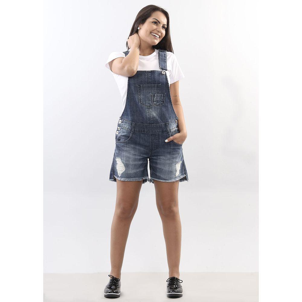 Jardineira jeans feminina 250654 sawaryb2c for Jardineira jeans feminina c a