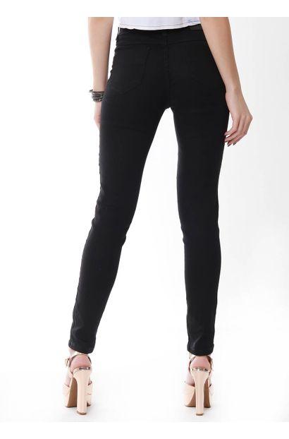 calca preta sawary jeans