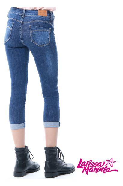 cropped sawary jeans larissa manoela