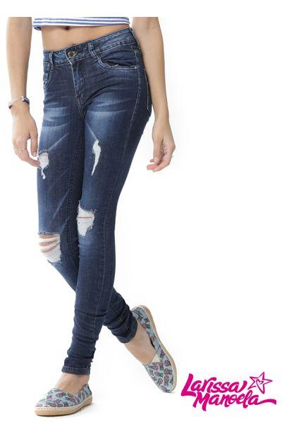 jeans Sawary larissa manoela