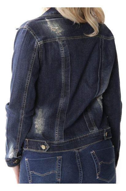 jaqueta feminina sawary jeans