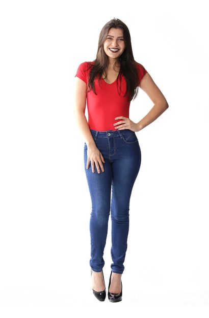 Calca Jeans Cigarrete Heart Jeans Sawary Jeans
