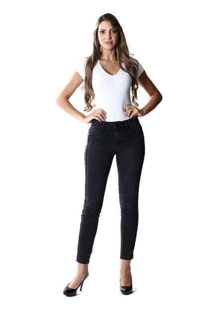 Calca Jeans Feminina Cigarrete - 254087