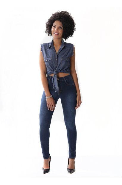 Calça Jeans Feminina Legging Hot Pants - 254160