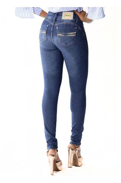 Calça Jeans Feminina Legging Modela e levanta Bumbum - 253780