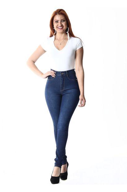 Calça Jeans Feminina Legging Super Lipo - 253819