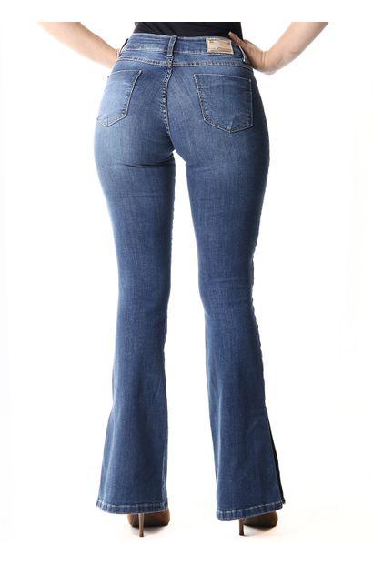 Calça Jeans Feminina Flare -253637