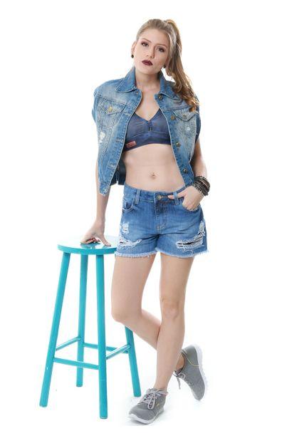 Capa Jeans Feminina - 252809