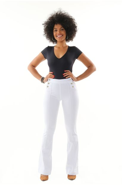 Calça Jeans Feminina Flare - 252385