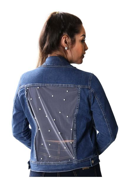 Jaqueta Jeans Feminina - 253853
