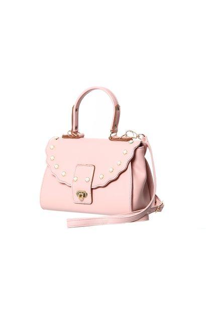 Bolsa Feminina Rosa - 255058
