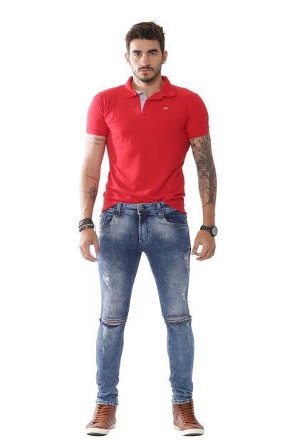 Calça Jeans Masculina Confort - 251947