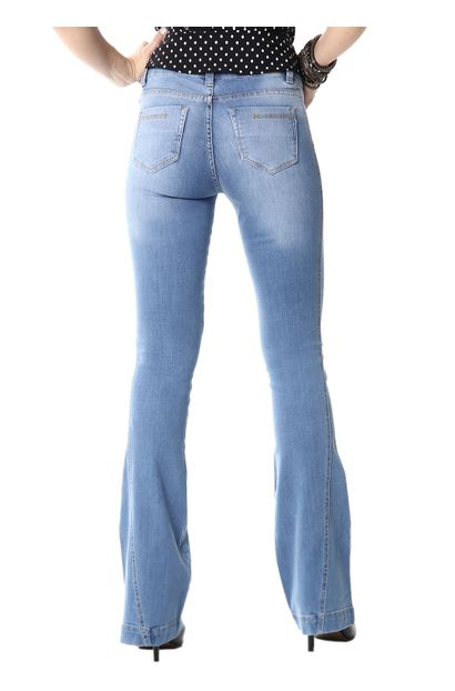 254127_2Calça Jeans Feminina Flare - 254127