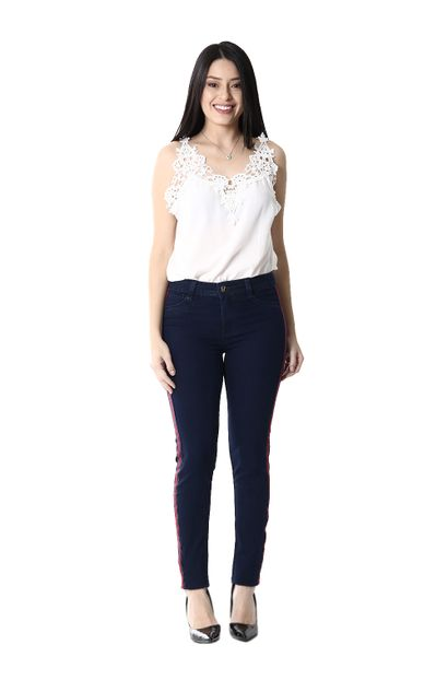Calça Jeans Feminina Legging - 254462