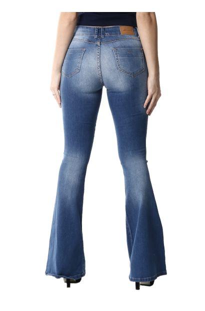 Calça Jeans Feminina Flare - 254358