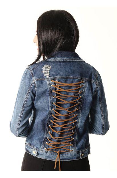 Jaqueta Jeans Feminina - 252537