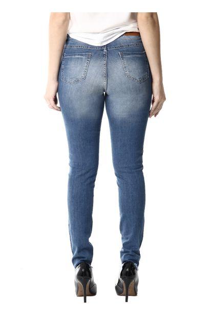 Calça Jeans Feminina Cigarrete - 254260