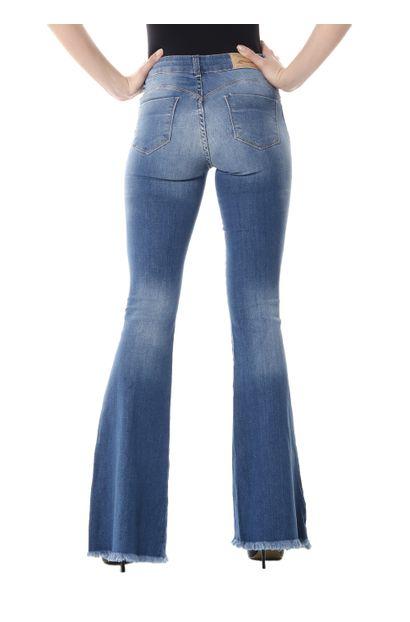 Calça Jeans Feminina Flare - 254053