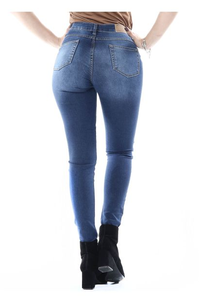 Calça Jeans Feminina Cigarrete - 254553
