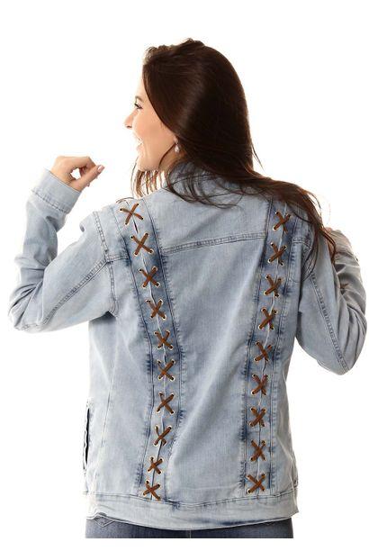 Jaqueta Jeans Feminina - 253080