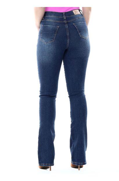 Calça Jeans Feminina Flare Boot Cut - 254248