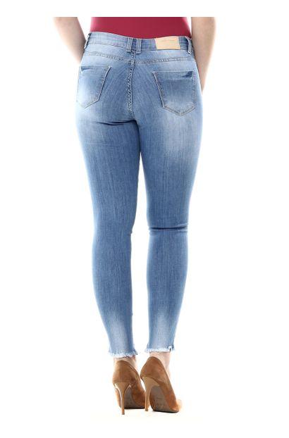 Calça Jeans Feminina Cigarrete - 254635
