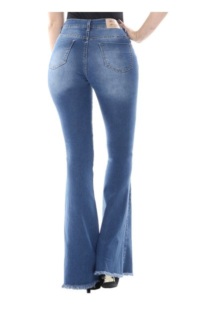 Calça Jeans Feminina Flare - 254555