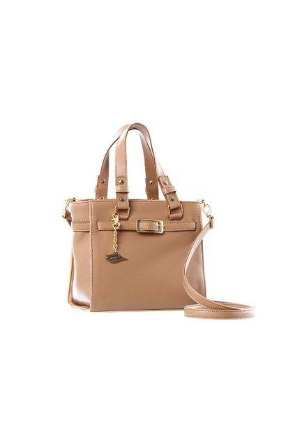 Bolsa Feminina de Mão Quadrada-255074