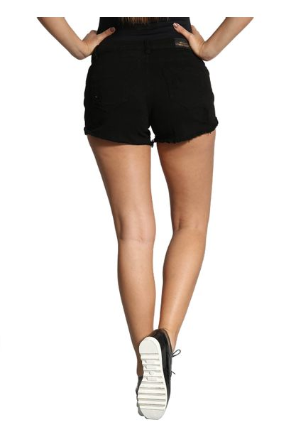 Shorts de Sarja Feminino Boyfriend - 250073