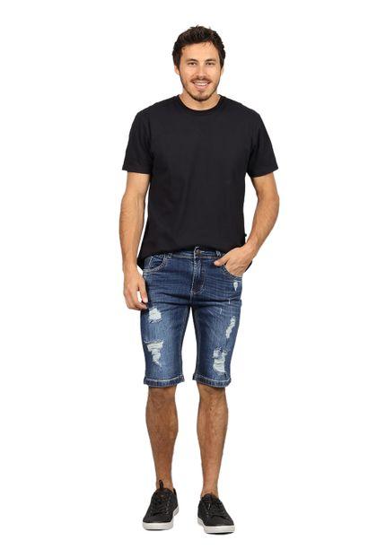 Bermuda Jeans Masculina Confort - 249887