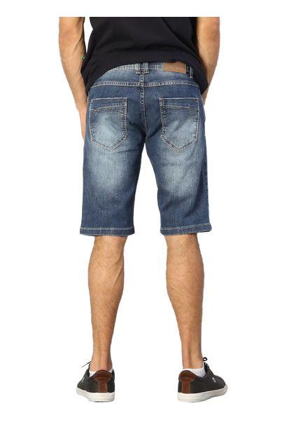 Bermuda Jeans Masculina Confort - 249729