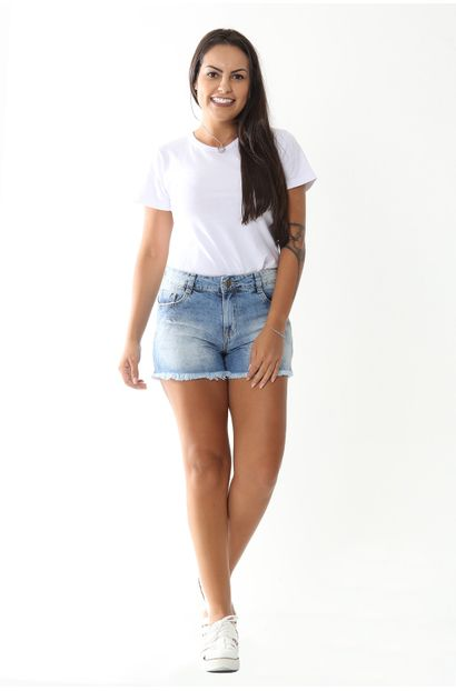 Shorts Feminino Boyfriend - 252751