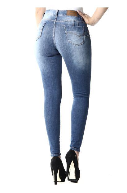 Calça Jeans Feminina Cigarrete Levanta bumbum - 253316