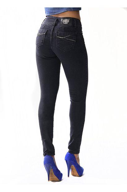 Calça Jeans Feminina Legging Modela e levanta Bumbum – 253539