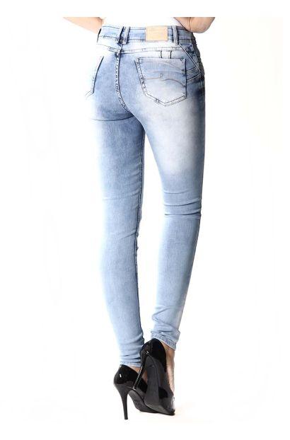 Calça Jeans Feminina Legging e Levanta bumbum - 252132