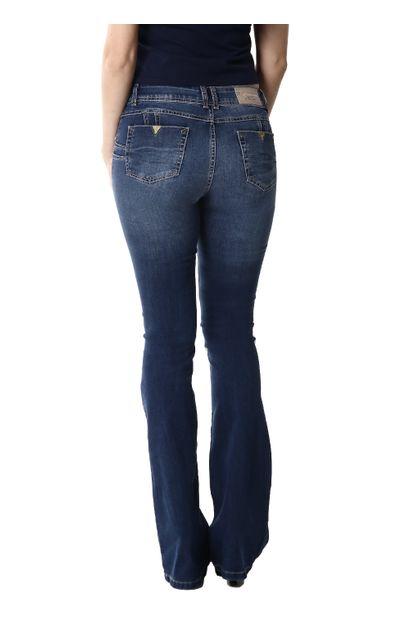 Calça Jeans Feminina Flare Levanta Bumbum - 254098