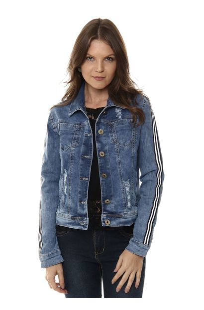 Jaqueta Jeans Feminina - 254967