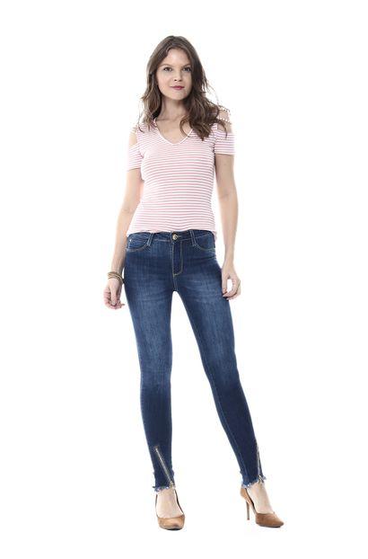Calça Jeans Feminina Cigarrete - 254568