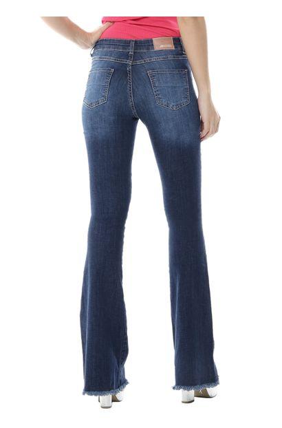Calça Jeans Feminina Flare - 254710