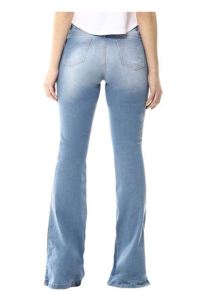 Calça Jeans Feminina Flare - 254731