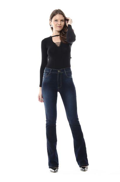 Calça Jeans Feminina Flare - 254287