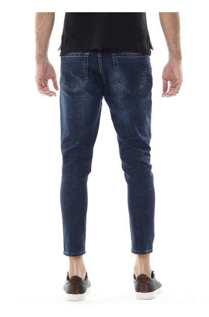 Calça Jeans Masculina Cropped -  254112