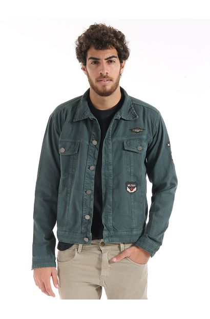 Jaqueta Jeans Masculina - 247612