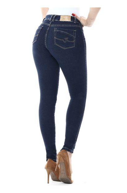 Calça Jeans Feminina Cigarrete - 254376