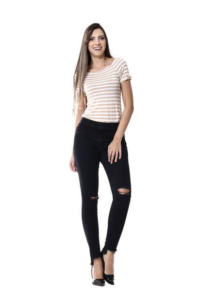 Calça Jeans Feminina Cigarrete - 255171