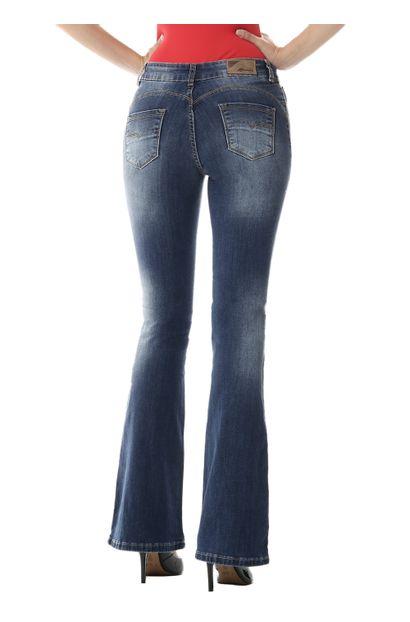 Calça Jeans Feminina Flare - 254886