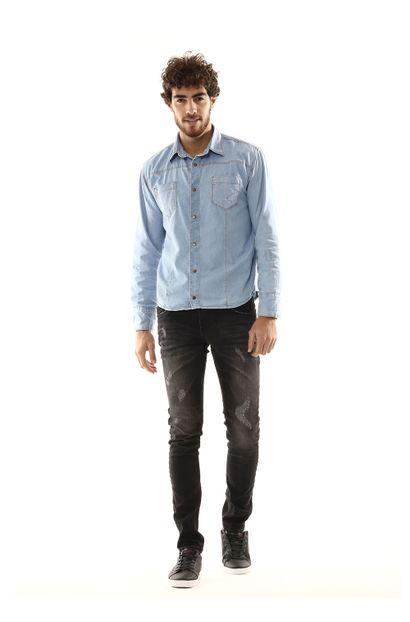 Calça Jeans Masculina Skinny - 254227