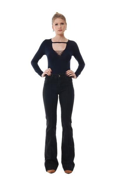 Calça Jeans Feminina Flare - 254785